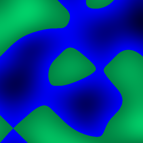 Perlin noise without fractal brownian motion